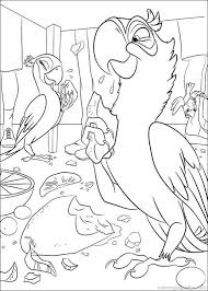 67 rio images draw rio movie colouring pages