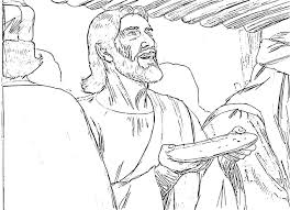 jesus share dippied bread and glass of wine in the last supper