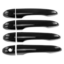 jeep black 4 door ses trims jeep cherokee 2014 2017 door handle covers