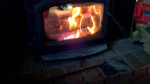wood burning fire place insert youtube