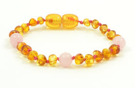 yellow quartz bracelet images Amber gemstone teething bracelet jpg