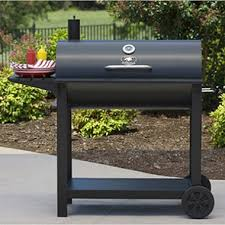 backyard professional charcoal grill traditional barrel charcoal barbeque grill sam s club