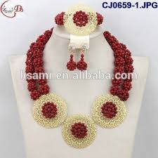 coral beads necklace images Cj0659 1 latest design coral beads necklace crystal ceramic beans jpg