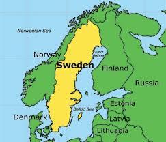 map of sweden the 25 best sweden map ideas on stockholm visit