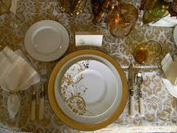 thanksgiving dishware a toile tale gold and white thanksgiving