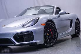pre owned 2015 porsche boxster gts convertible in warrenville