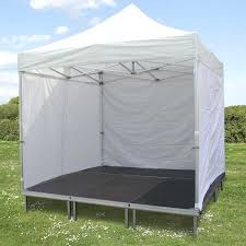 gazebo heavy duty 4 x 4 pop up gazebo heavy duty stage system with pop up roof