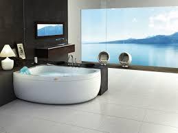 badezimmer mit eckbadewanne modernes badezimmer mit whirlwanne für genießer