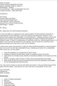 Resume Cover Letter Samples For Administrative Assistant Job by Cover Letter Sample Administrative Assistant Elegant