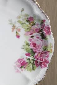 Shabby French Cottage by French Cottage Roses China Plates Vintage Dessert Plate Set Of 8