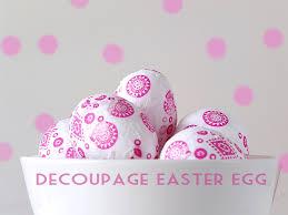 styrofoam easter eggs make your own decoupage eggs craft tutorial kidspot