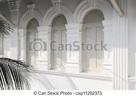 Colonial Windows Designs Picture Of British Colonial Windows Windows On The Facade Of