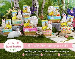 filled easter baskets wholesale personalized easter baskets for kids at personal creations