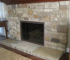charming stone for fireplace facing images design inspiration