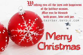 message for friends and family merry happy