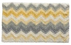 Grey Bathroom Rugs Yellow And Grey Bath Rug Roselawnlutheran