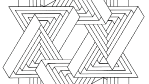 printable optical illusions optical illusions printable optical illusion coloring page free