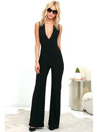 wide leg jumpsuits v neck backless sleeveless wide leg jumpsuit novashe com
