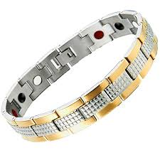 steel stainless magnetic bracelet stainless images Stainless steel mens jewelry link magnetic bracelet jpg