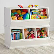 white storagepalooza stacking toys game storage and toy storage