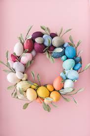 easter wreath rainbow easter egg wreath the house that lars built