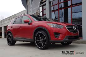 mazda number mazda cx5 with 22in lexani r twelve wheels exclusively from butler