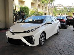 toyota company latest models 2016 toyota mirai hydrogen fuel cell car a few things we noticed