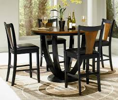 round dining room sets counter height round dining table sets 54 with counter height