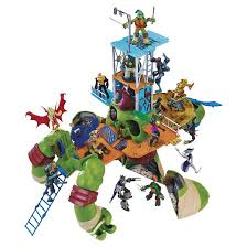 teenage mutant ninja turtles 24 leonardo turtle playset target