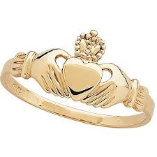 claddagh ring 18kt gold plated claddagh ring walmart