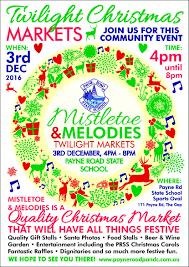 mistletoe and melodies twilight markets brisbane
