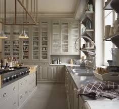 upper cabinets with glass doors 66 gray kitchen design ideas gray kitchens warm grey kitchen and