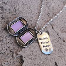Custom Dog Tag Necklace Custom Thick Sterling Men U0027s Locket And Dog Tag Necklace