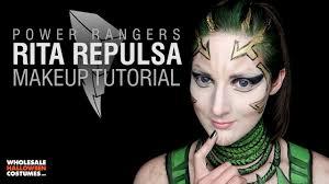 wholesale halloween costumes com rita repulsa makeup tutorial whcdoessfx ft caitlyn kreklewich