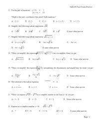 math 99 final exam practice ppt download