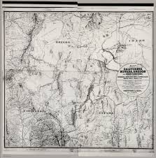 Map Of California And Oregon by Map Of Parts Of California Nevada Oregon And Idaho Territory