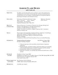 Vet Tech Resume Samples by Performance Consultant Cover Letter