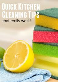 Kitchen Cleaning Tips How To Clean Fast With These Quick Kitchen Cleaning Tips