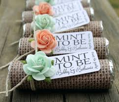 mint to be bridal shower burlap bridal shower favors bazaraurorita