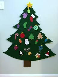 making a felt christmas tree thriftyfun