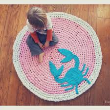 Pink Round Rug Nursery Shop Round Nursery Rugs On Wanelo