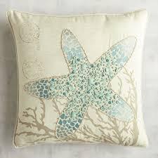 beaded starfish pillow pier 1 imports diy pinterest