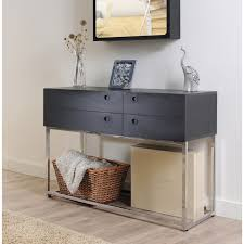 trend contemporary console table with drawers 35 in best interior