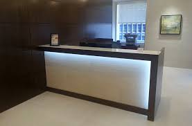 Acrylic Reception Desk Custom Designs Arnold Contract