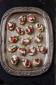 beef canape recipes a few fabulous canapés drizzle and dip