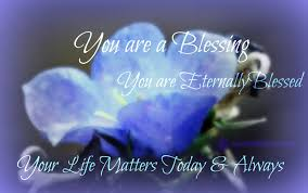 you are a blessing quotes bleue healing