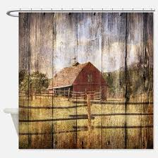 Country Shower Curtain Country Shower Curtains Cafepress