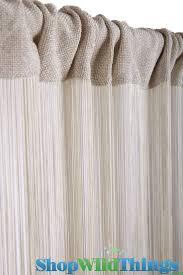 37 best string curtain decorations images on pinterest string