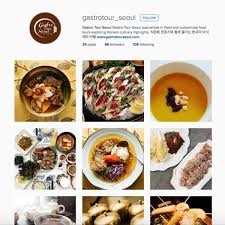 instagram cuisine 6 instagrams to follow for food gastro tour seoul