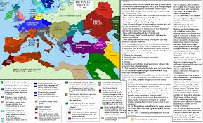 Roman Map Alternate History Weekly Update Map Monday Western Rump Or The